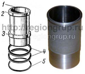 Гильза цилиндра 303-07-7Б (503-07-2)
