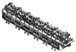 Головка блока левая 6306-02-29 СБ (сб.1206-02-4)
