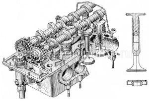 Клапан выпуска сб. 306-07-3