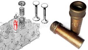 Направляющая втулка клапана В-46 306-17-5