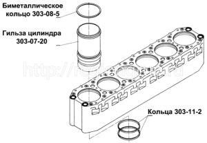 Гильза цилиндра В-46 303-07-20