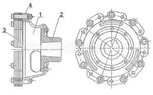 Полумуфта ведомая П-417-II 4020.06.06-4сб.